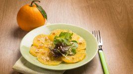 Vorspeisen Rezept: Orangen Carpaccio