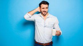 Zu viel Kaffee trinken ist nicht gesund
