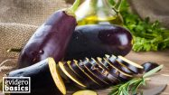 Auberginen haben wenig Kalorien