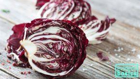 Gesunder Salat: Radicchio