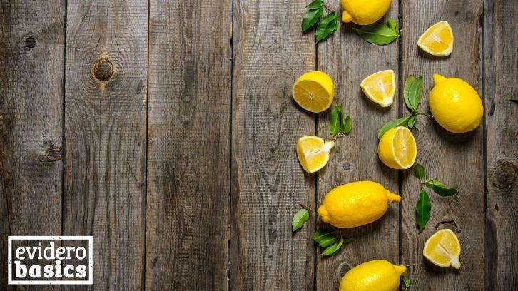 Gesunde Kraft der Zitrone