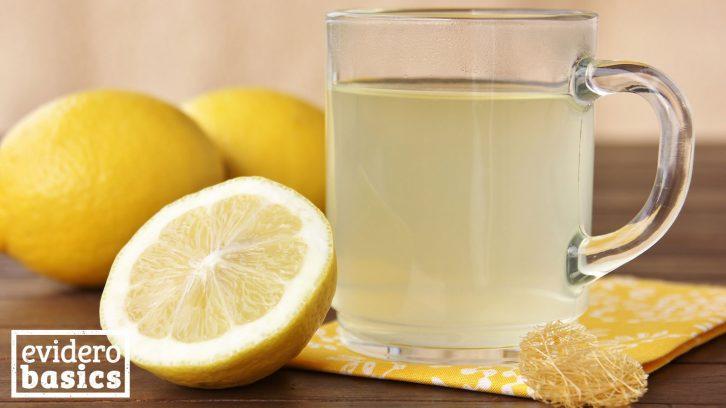 So gesund ist Zitronenwasser
