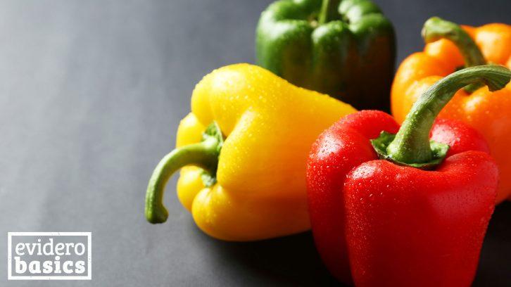 Paprika ist sehr vitaminreich
