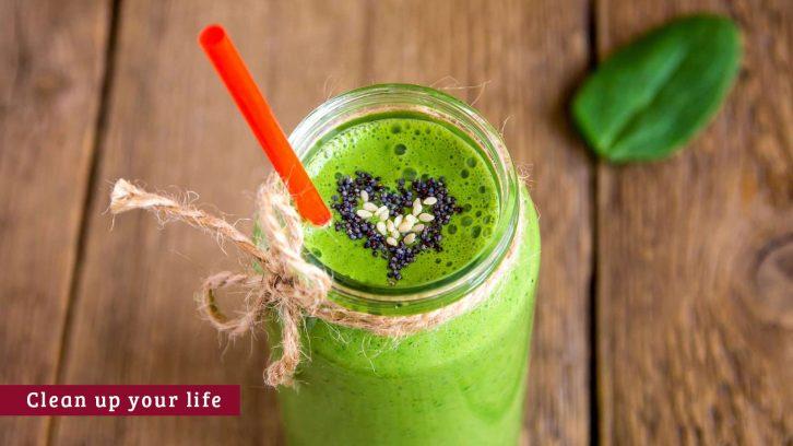 Grüne Smoothies gegen Entzündungen