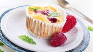 Veganer Mini Cheesecake