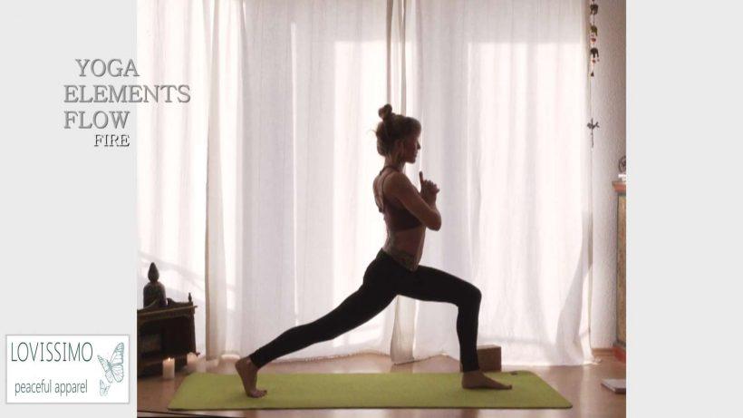 Yoga Flow im Element Feuer