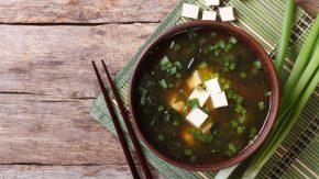 Fermentierte Rezepte Miso Suppe