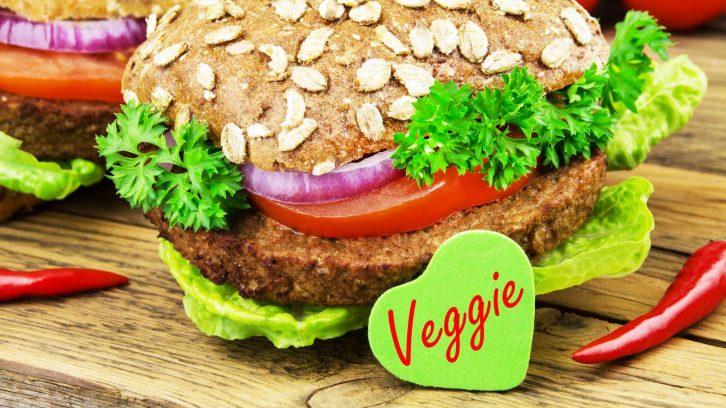 Fleischersatz: Veggie Burger mit Tofu