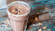Wintersmoothies: Schokolade und Banane Smoothie