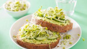 Zuckerfreier Tag mit Avocadobrot: gesunde Rezepte