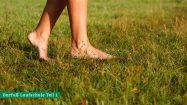 Barfußlaufen lernen: Richtig stehen