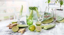 Frisches Gurkenwaser selbermachen