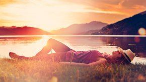 Entspannt und glücklich werden mit innerer Ruhe durch Yoga