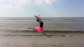 Ins Leben springen