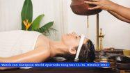 Junge Frau bekommt eine ayurvedische Behandlung