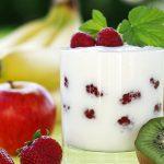 Früchtequark als gutes Essen bei Hitze
