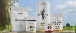 foodspring Produktauswahl