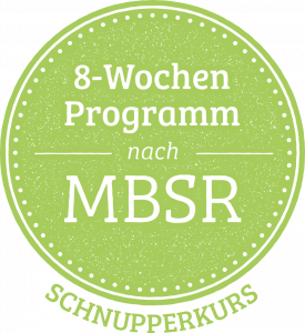 MBSR Programm Button