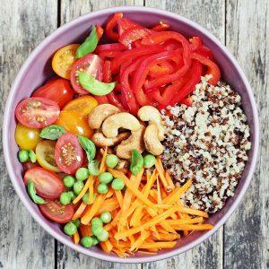 Glutenfreie Rezepte: Quinoa Bowl
