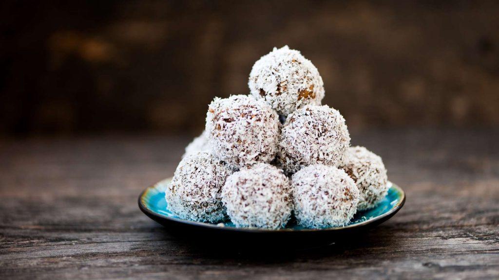 Zuckerfreie Energie Balls