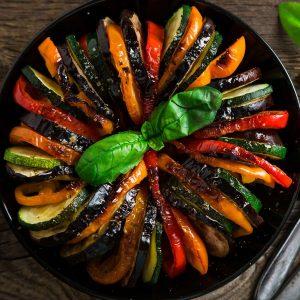 Mit Gemüse lecker vegan kochen