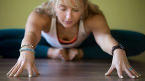 Baddha Konasana im Yin Yoga