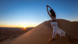 Prana Yoga in der Sahara