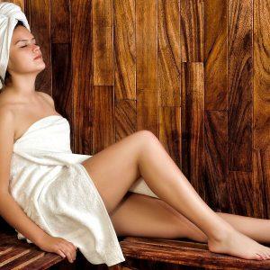 Sauna im Winter ist gesund