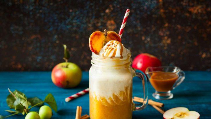 Winter Smoothies: Apfel Zimt
