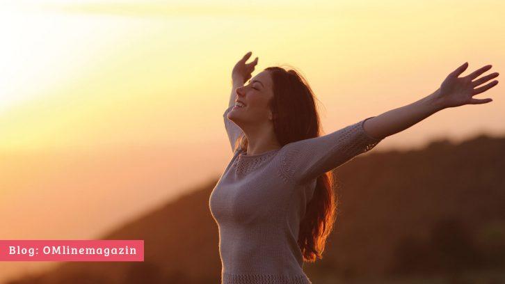 Zen Atmung zum Glück
