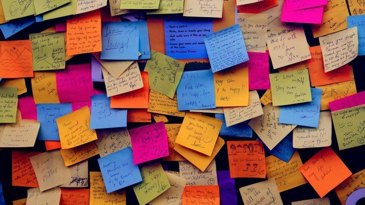 Zettel schreiben gegen die Digitalisierung