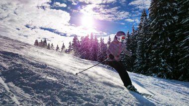 Sport im Winter ist sehr gesund