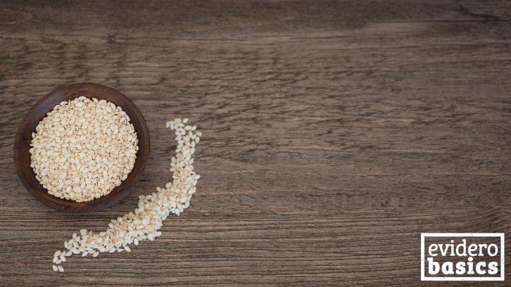 Sesam Samen sind sehr gesund