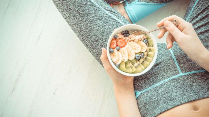 Das richtige Essen und Bewegung macht gesund