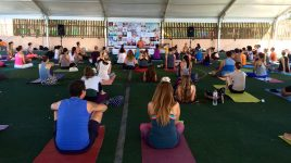 David Williams auf der Barcelona Yoga Conference