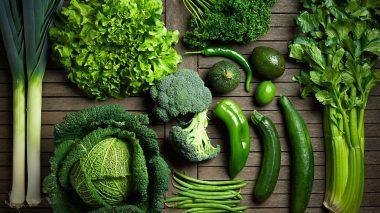 Ernährung für das Herzchakra - Grüne Lebensmittel