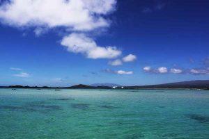 Bucht vor Galapagos