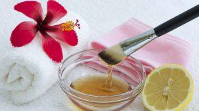 Honig ist gut für die Haut