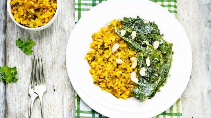 Rezept für eine Reis-Ingwer-Bowl