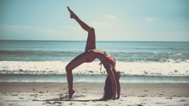 Gute Laune durch Yoga