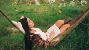 Gut für sich sorgen durch Entspannung